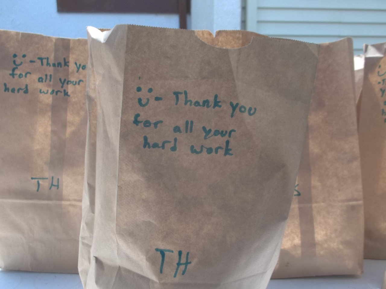 Habitat for Humanity Lunch Providers Donation